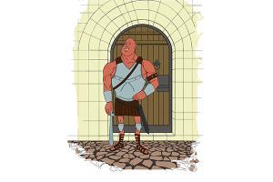 Portfolio for Illustration. Character design. Cartoon.
