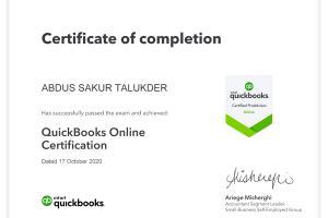 Portfolio for Quickbooks Certified Expert