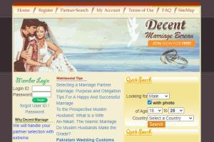 Matrimonial Website (decentmarriage.com)