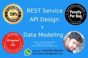 Portfolio for Rest Service or API design & development