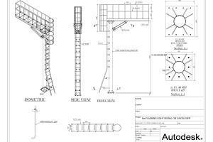 Portfolio for Advance steel models and detailing