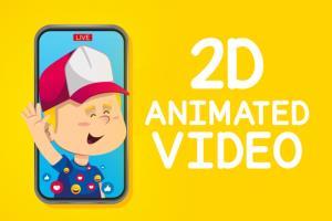 Portfolio for 2D Animation or Explainer Video