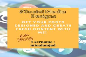 Portfolio for Social Media Posts & Content Creator