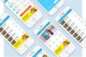 Portfolio for Mobile App Development.