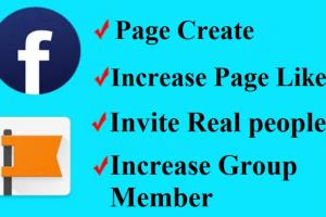 Portfolio for promote facebook pages or group or event