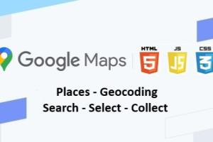 Portfolio for Google Maps Api Geocoding Search Select