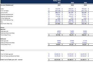 Portfolio for Prepare financial statements