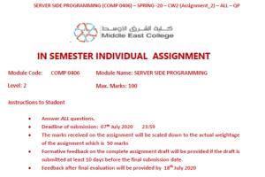 Portfolio for Computer Science Assignment  Help