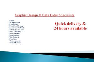 Portfolio for I am Expert in Data Entry , PDF to Excel