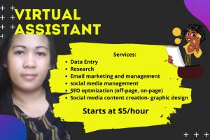Portfolio for Virtual Assistant Services