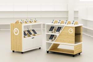 Portfolio for Design of Retail Displays and Interiors