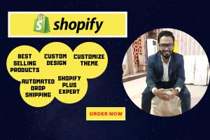 Portfolio for Design and Manage shopify store