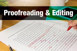 Portfolio for Deeply Proofreading and Editing