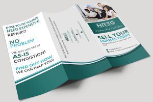 Portfolio for Tri-Fold Brochure Designing