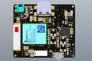 Portfolio for 4G LTE GPS Tracking Device - PCB design