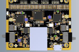 Portfolio for Digital Camera Control PCB Board