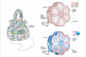 Portfolio for Fashion Designer. Technical Illustrator