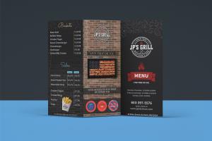 Portfolio for food, restaurant, menu, ready to print