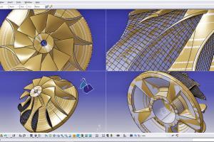 Portfolio for reverse engineering - CATIA
