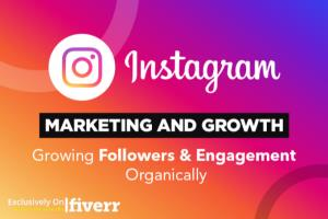 Portfolio for grow follower doing Instagram promotion