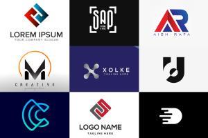 Portfolio for letter logo design