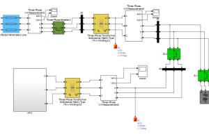 Portfolio for projects on matlab simulink for electric
