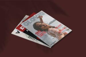 Portfolio for Magazine and eBook Cover