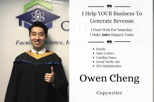 Portfolio for Copywriting - Generate Revenue For YOU