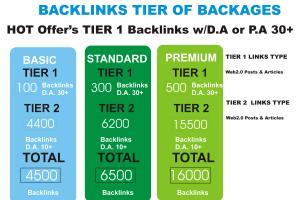 Portfolio for I will create 4500 dofollow backlinks