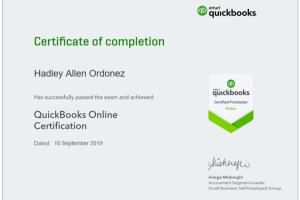 Portfolio for Bookkeeping using QuickBooks