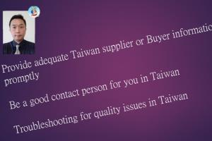 Portfolio for For suppliers or buyers work in Taiwan