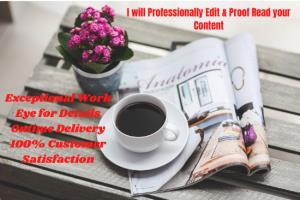 Portfolio for Proofreader, Editor & Writer