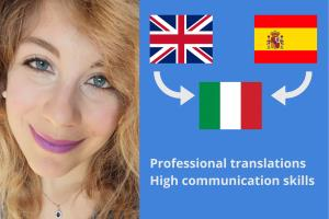 Portfolio for Translator, copywriter, proofreader