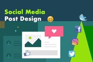 Portfolio for I will design creative social media post
