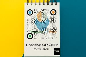 Portfolio for I will create QR Code with your Logo