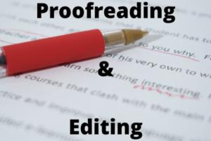Portfolio for Proofreading & Editing Services