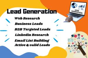 Portfolio for Excellent B2B Lead generation