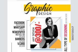 Portfolio for Designs for social media promotions
