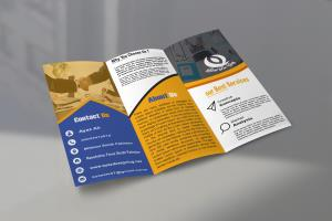 I will make awesome flyer, poster or brochure design