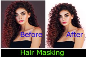 Portfolio for Hair masking.