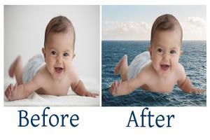 Portfolio for Baby Photo Retouching