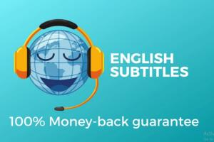Portfolio for I will add english subtitles in video