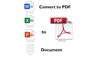 Portfolio for I wil Convert your Office files to PDF