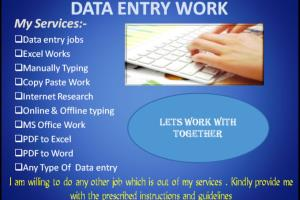 Portfolio for Data Entry, Translator.