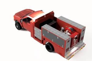Improvised Fire Truck (For Visualization Purposes)