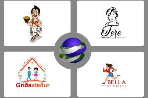 Portfolio for Creative and Unique Logo Designer