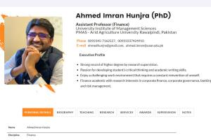 Ahmed Imran Hunjra