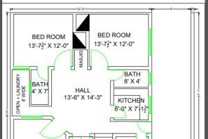 Portfolio for 2D Drawings & Floor Plans