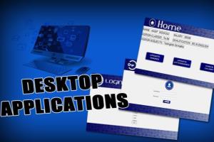 Portfolio for Desktop Applications using Python & PyQT