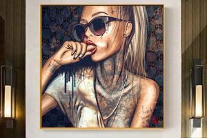 Portfolio for Eye Catching Canvas wall art Designs